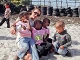 Justine Laplace, construction en Afrique du Sud