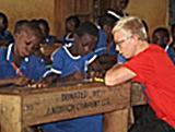 Marc Leroux, chantier humanitaire et rénovation au Ghana