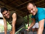 Pierre Wallerand, écovolontariat en Thaïlande