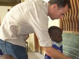 Nicolas Claverie, mission humanitaire au Sénégal