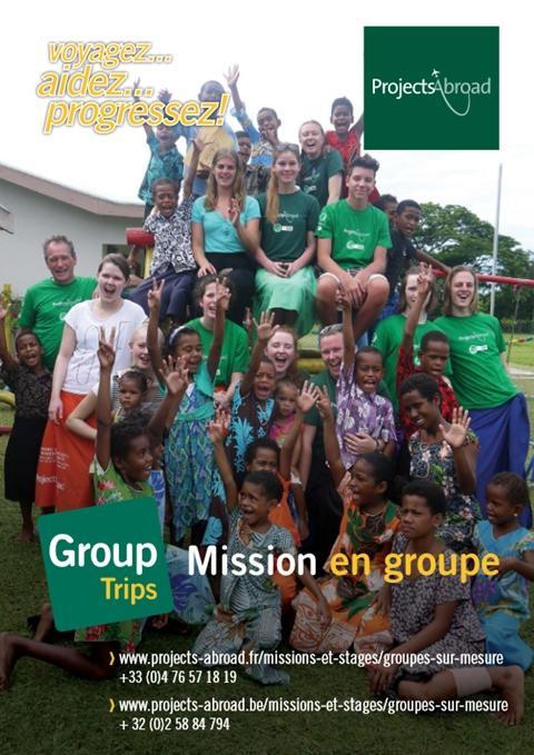 du dépliant Mission en groupe