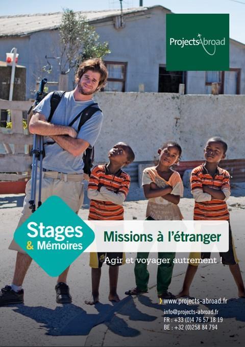 Dépliant Stages