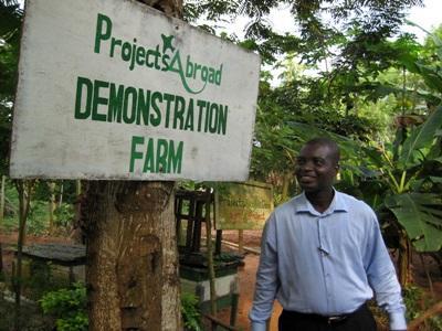 Voyage responsable dans un jardin communautaire au Ghana
