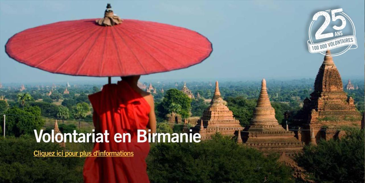 Volontariat en Birmanie