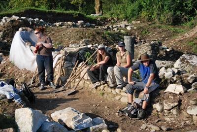 Mission archéologie en Roumanie
