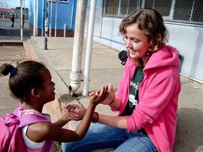 Donner des cours de danse bénévoles en Afrique du Sud
