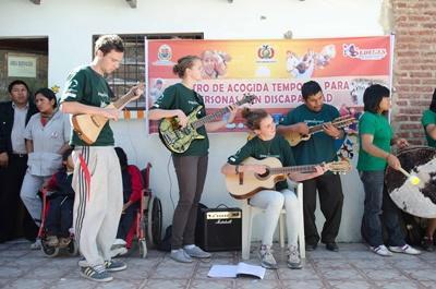 Projet humanitaire Musique en Bolivie