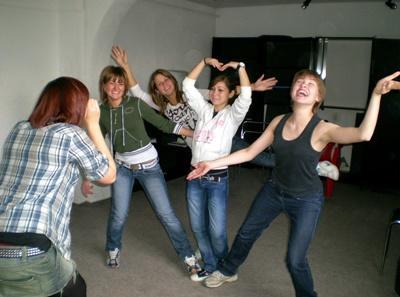 Travail communautaire en Roumanie autour du Théâtre