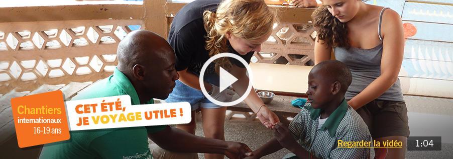 Des chantiers jeunes bénévoles à l'étranger en groupe pour les 16-19 ans cet été