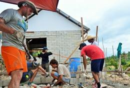 Chantiers jeunes construction & reconstruction : Philippines