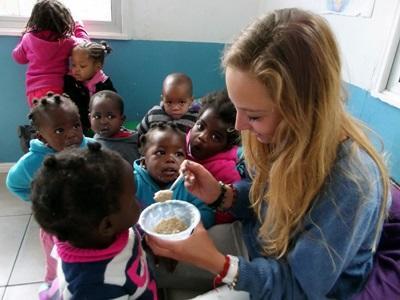 chantiers internationaux humanitaires en Afrique du Sud