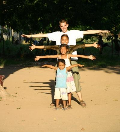 Chantier international humanitaire au Cambodge