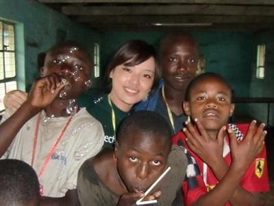 Chantier humanitaires au Kenya