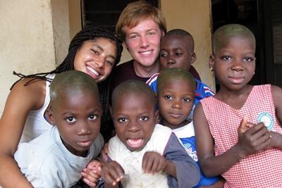 Chantier international de jeunes au Togo