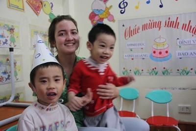 Chantier humanitaire international au Vietnam
