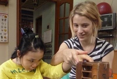 Chantier humanitaire au Vietnam