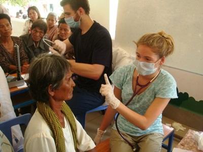 Volontaire en chantier santé publique dans un hôpital au Cambodge