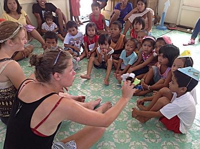 Chantier santé publique aux Philippines