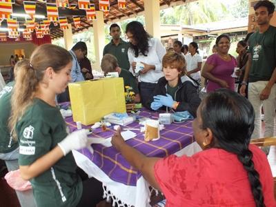 Volontaire en chantier Santé publique au Sri Lanka