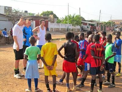 Chantier foot Ghana