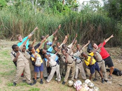 Chantier jeunes football Jamaïque