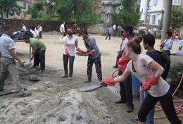 Missions de volontariat et stages au Népal : Construction &   reconstruction