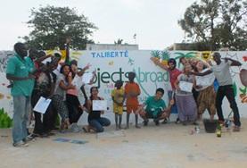 Chantier de Construction en Afrique : Sénégal