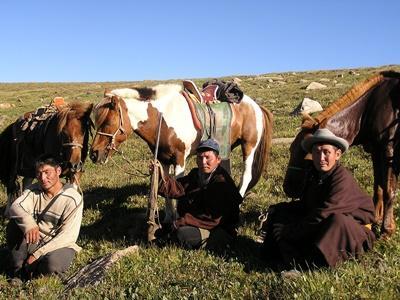 Séjour avec nomades steppes en Asie centrale