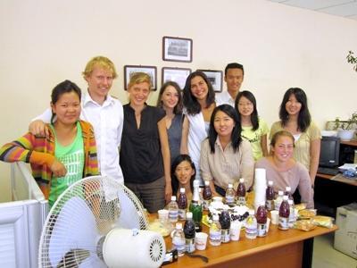 Volontaires en stage de droit en Mongolie