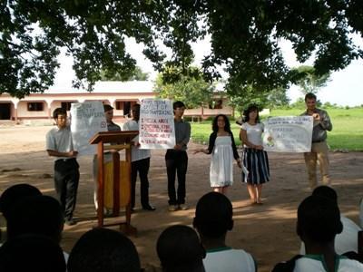 Campagne de défense des droits humains en Afrique