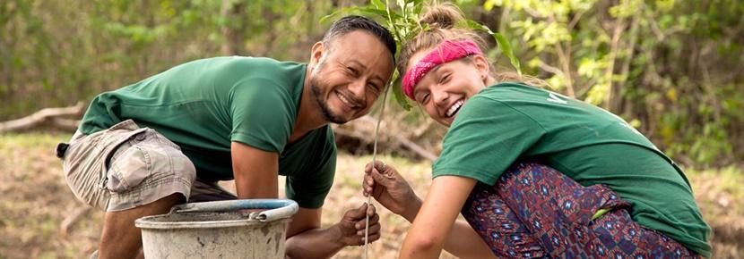 L'écotourisme lors d'une mission d'écovolontariat au Costa Rica