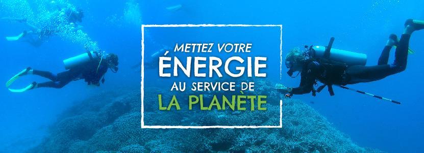 Mettez votre energie au service de le planète