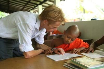 Actions socio-éducatives à l'étranger