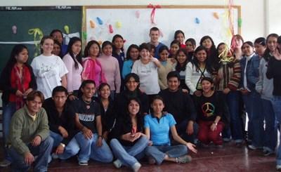 Jeunes adultes en Amérique Latine