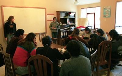 Mission dans l'enseignement en Bolivie