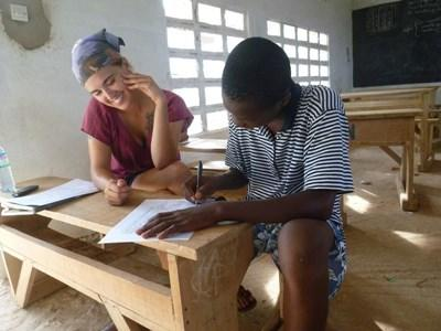 Action enseignement Togo