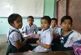 Etre volontaire en Birmanie : Enseignement