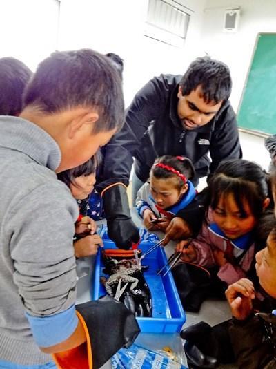 Aider les écoles en Chine