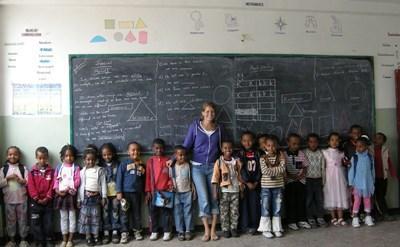 Enseignement humanitaire en Ethiopie