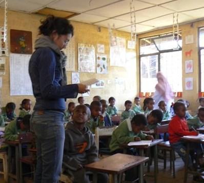 Soutien scolaire en Afrique