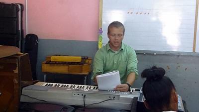 Cours de musique en Jamaïque