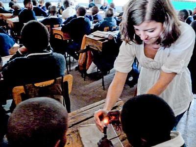 Mission d'enseignement de l'anglais au Kenya