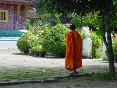 Un moine au Laos