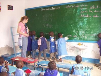 Bénévolat écoles Sénégal