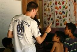 Missions de volontariat et stages au Cambodge : Enseignement