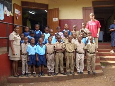 Activités éducatives humanitaires en Jamaïque