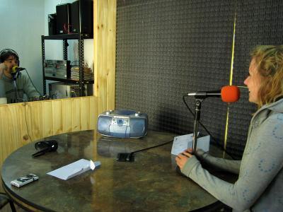 Journalisme radio Argentine