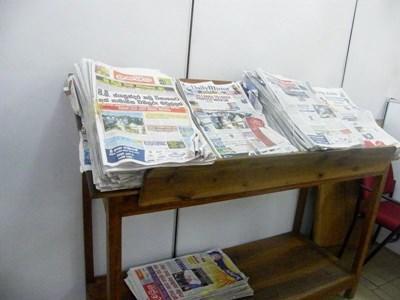 Stage en presse écrite au Sri Lanka