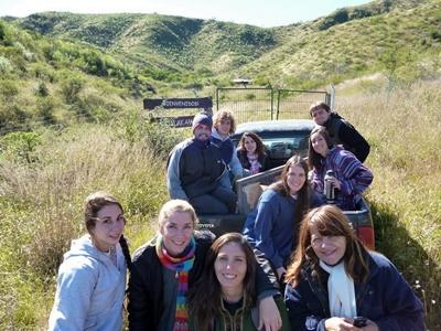 Volontaires Projects Abroad lors d'une excursion