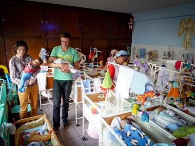 Mission humanitaire en centre d'accueil en Ethiopie